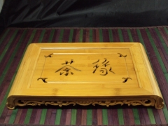 Hand Made Bamboo Tea Server Board