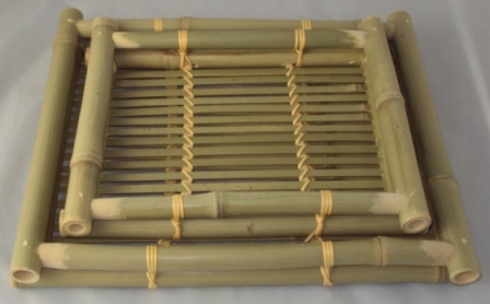 Stored Bamboo Trays