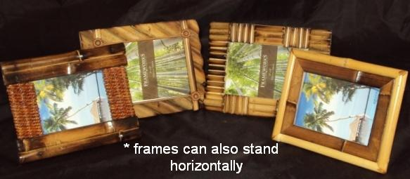 Frames in longways horizontal position.