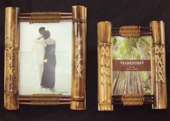Rope and Bamboo Lace Photo Frames