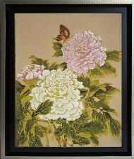 Chrysanthemum Cloisonne Wall Art
