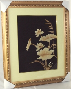 Asian Lotus Painting